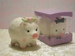 piggy bank favors practical wedding favors coin bank wedding favors