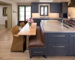 bench for kitchen island charming interesting kitchen island with built in seating