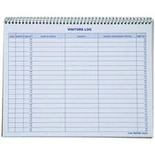 rediform 9g620 visitors log book nordisco com