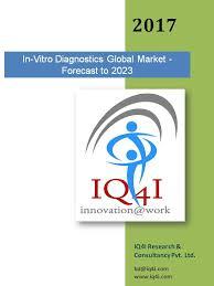 Memed Diagnostics - vitro diagnostics global market forecast to 2023