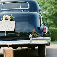 How To Decorate A Wedding Car With Flowers Southern Blooms By Pat U0027s Floral Designs