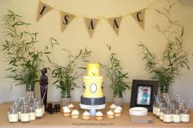 chevron inspired safari themed baby shower cake cakecentral com
