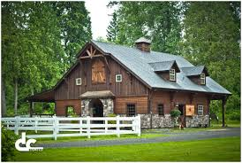 backyards stupendous custom all wood horse barn design dc