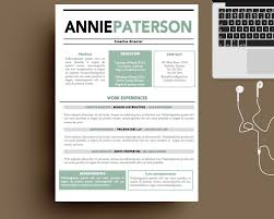 creative resume templates free for mac the 25 best free resume
