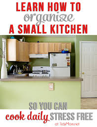 Ideas To Organize Kitchen - small kitchen organization tips
