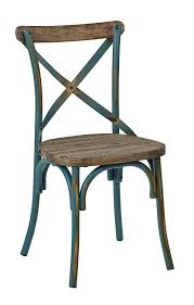 Wood And Metal Dining Chairs Amazon Com Osp Designs Somerset X Back Antique Metal Chair With