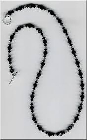 black swarovski crystals necklace images Black elegance swarovski crystal necklace by houston crafts jpg