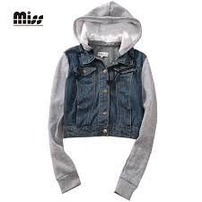 hoodie denim jacket fit jacket