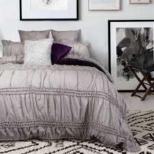 bedroom textured duvet covers blush comforter ruched duvet cover