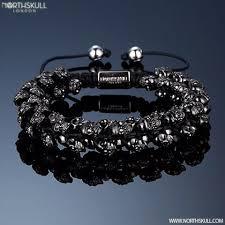 skull crystal bracelet images 145 best skull bracelets mens skull bracelets skull jewelry for jpg