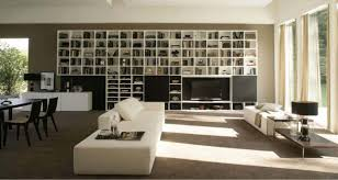 Bookcase System 250 Wall Unit With Bookcase System By Sangiacomo Italy