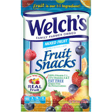 dole fruit snacks welch s reduced sugar mixed fruit fruit snacks 0 8 oz 8 ct
