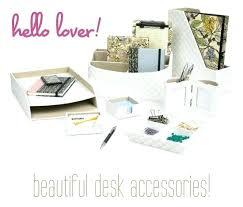 Desk Accessories Organizers Fashionable Desk Accessories Office Stylish Organizers