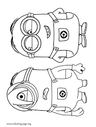 minions coloring funycoloring
