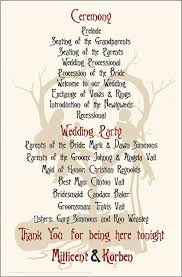 christmas wedding programs vintage nightmare before christmas wedding programs wedding