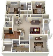 1400 sq ft house plans 3d