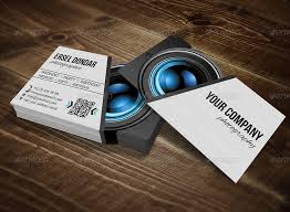 photography business card template photoshop professional