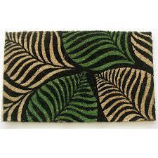 Coco Doormat Geo Crafts Palm Leaves Doormat U0026 Reviews Wayfair