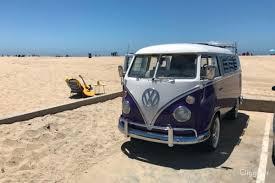 bmw hippie van rent 1965 volkswagen van car transportation for film photoshoot