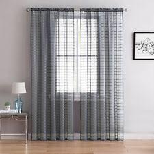 plaid modern curtains drapes u0026 valances ebay