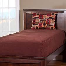 Bunk Bed Coverlets Deluxe Solid Color Reversible Fitted Bed Cap Comforter Comforter
