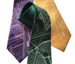 New Orleans Terminal Map by New Orleans Map Silk Necktie By Cyberoptix