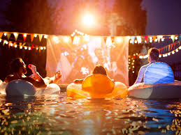 Backyard Movie Night Best Projectors For Outdoor Movies Momtastic Com
