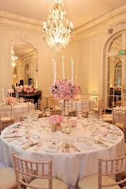 pink table l chic city wedding reception rooms pale pink and reception elegant