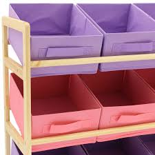 3 Tier Shelving Unit by Childrens Kids 3 Tier Toy Bedroom Storage Shelf Unit U0026amp 9