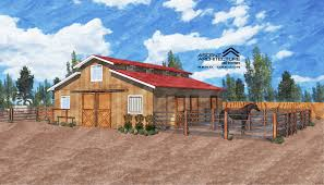 small horse barn ascent architecture u0026 interiors bend oregon