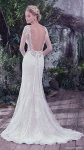 Long Sleeve Lace Wedding Dress Open Back 100 Open Back Wedding Dresses With Beautiful Details Maggie