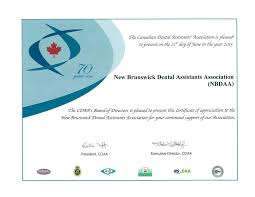 home page new brunswick dental association