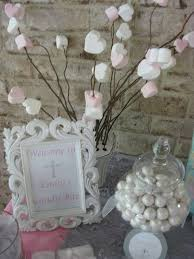 communion decorations silver white and pale pink communion party ideas