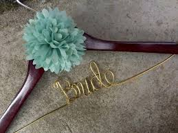 personalized wedding hangers personalized wedding hanger custom flower adornment bridal hanger