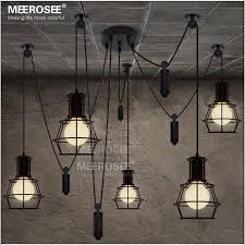 Black Hanging Light Fixture American Style Black Pendant Light Fixture Creative Suspension