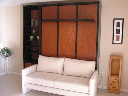 murphy bed over couch home design ideas