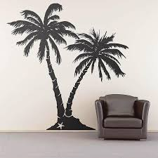 palm tree home decor zspmed of palm tree wall decals simple about remodel small home