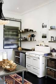 narrow modern kitchen design painted with white wall interior narrow modern kitchen design painted with white wall interior color and floating spice rack shelves over cabinet with marble countertop ideas
