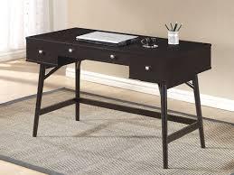 Contemporary Desk by Amazon Com Baxton Studio Dunkirk Modern Desk Dark Brown Kitchen