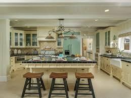 cottage kitchen with glass panel u0026 flat panel cabinets in coronado