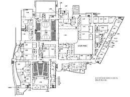 school floor plan pdf rockville hs school maps