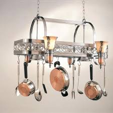 kitchen island pot rack lighting kitchen pot rack with lights kitchen island pot rack lighting images