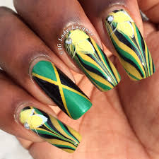 Colors Of Jamaican Flag Jamaican Lady Lacquer