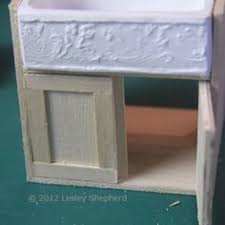 Dollhouse Kitchen Sink by Make Glass Front Upper Kitchen Cabinets For The Dollhouse