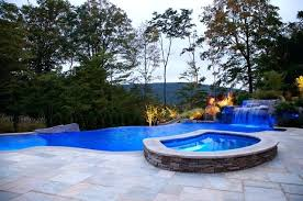 Small Backyard Ideas With Pool Small Backyard Infinity Pools Infinity Pool Backyard Designs
