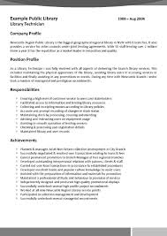 Librarian Resume Sample Resume Writing Example Resume Cv Cover Letter