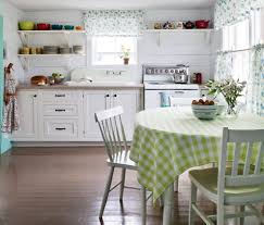 kitchen remarkable shabby chic kitchen interior with plaid