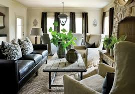 Leather Cushions For Sofas Industrial Coffee Table Transitional Living Room Atlanta
