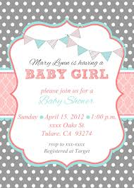 create your own invitations new baby shower invites for girl to create your own invitation for