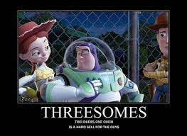 Threesome Memes - inappropriate toy story memes jokes pictures gifs